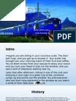 the blue train luke lefrancois