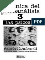 Lombardi Gabriel - La Clinica Del Psicoanalisis 03 - Las Psicosis - Copy (2)