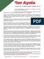 17-03-09 NO MÁS VUELTAS, TODA AGENCIA DEL MP DEBERÁ RECIBIR CUALQUIER TIPO DE DENUNCIA- FLOR AYALA
