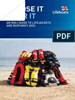 Rnli Guide to Lifejackets and Buoyancy Aids