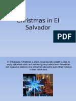 Christmas in El Salvador