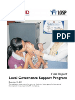 Local Governance Support Program