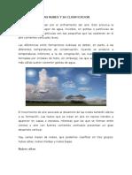 Las Nubes y Su Clasificacion