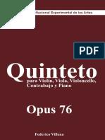 Villena, F. - Quinteto