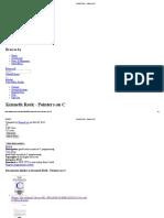 Kenneth Reek - Pointers on C