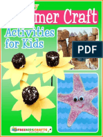 14 Easy Summer Craft Activities for Kids Free eBook