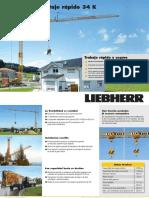 Grúa Torre Liebherr 34K