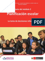 Planificacion Escolar - R