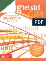 Język angielski Repetytorium Gimnazjum klasy 1- 3