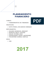 ULTIMOPLANEAMIENTO FINANCIERO