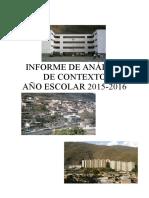 Analisis de Contesto PJL 2015
