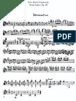 O Lago Dos Cines -Tchaikovsky-Op20 - Violino 1