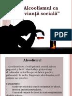 Alcoolismul CA Devianță Socială