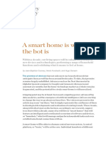 A Smart Home is Where the Bot Is