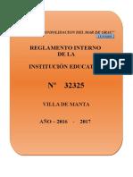 R.I I.E N° 32325 VILLA DE MANTA 2017