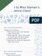 first days of school - version 2