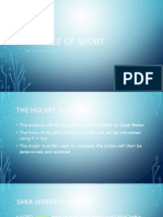 science of sport portfolio