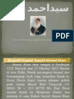 سيداحمد خان