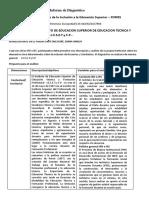 Informe de Diagnostico IESETyFP
