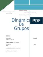 Dinamica de Grupos Trabajo