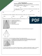 Lista Geometria Espacial Cursinho Focus 2
