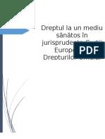 Dreptul la un mediu sanatos_CEDO.docx