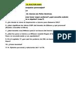 Examen Libro Xxl y El Doctor Kaos