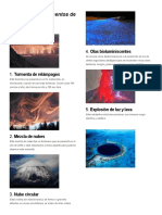 diez 10 fenómenos naturales