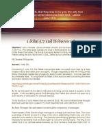 1 John 5-7