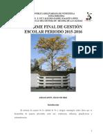 Informe Final Pjl 2016