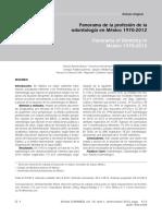 Dialnet-PanoramaDeLaProfesionDeLaOdontologiaEnMexico197020-4237123
