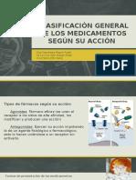 Clasificación General de Los Medicamentos Según Su Acción