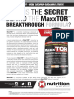 WHAT IS THE SECRET BEHIND THE MaxxTOR BREAKTHROUGH FORMULA?