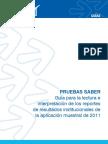 Guia para lectura e interpretacion reportes resultados institucionales aplicacion muestral 2011.pdf