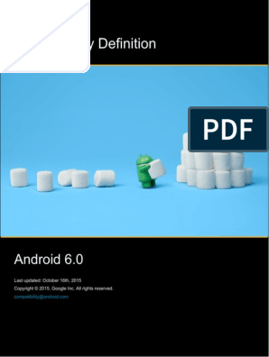 Android Cdd | Android (Operating System) | Application