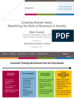Creating Shared Value Kramer Presentation