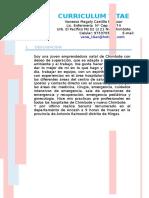 Curriculum Chimbote