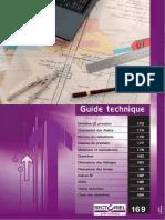 Guide Technique. Directive CE Pression 170. Classement Des Fluides 174. Normes de Robinetterie 176. Classes de Pression 177