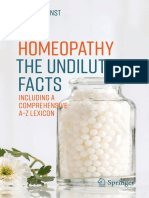Edzard Ernst (Auth.)-Homeopathy - The Undiluted Facts_ Including a Comprehensive a-Z Lexicon-Springer International Publishing (2016)