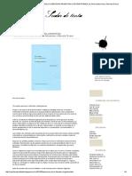 Sudor de Tinta_ Panorama de La Literatura Argentina Contemporánea, De Silvina Marsimian y Marcela Grosso