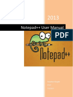 Notepad Plus Plus Manual