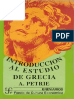 Petrie a. Introducción Al Estudio de Grecia