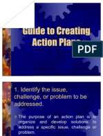 Guide to Creating Action Plans