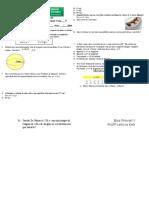 Avaliação de Matemática II. 4º Bimestre
