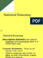 Statistics Reasoning