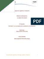 Actividad 1Los Conceptos de La Modelacion y La Simulacion1