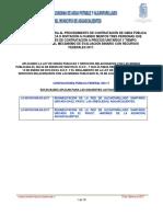 01. Convocatoria Pub Federal 003-17