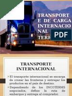 Comercial Internacional Diapositivas