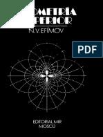 N.V. Efimov-Geometría Superior-Editorial Mir (1984)