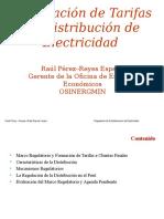 Aspectos Economicos Calculo Tarifas Electricas